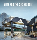Architizer Nomination | Vote Now for Jennifer Marman's, Daniel Borins', and James Khamsi's SFC Bridge in the Architizer A+ Awards