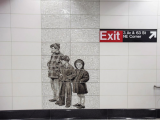 Second Avenue Subway art, including work by Chuck Close, is unveiled