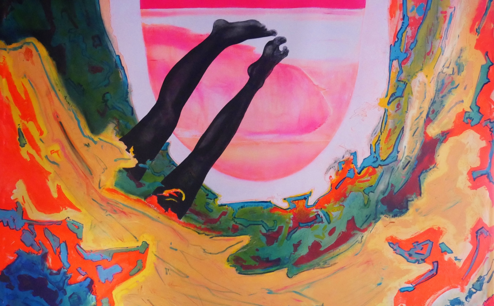 Cy Gavin on the Socio-political Dimensions of his Kaleidoscopic Paintings at VNH Gallery