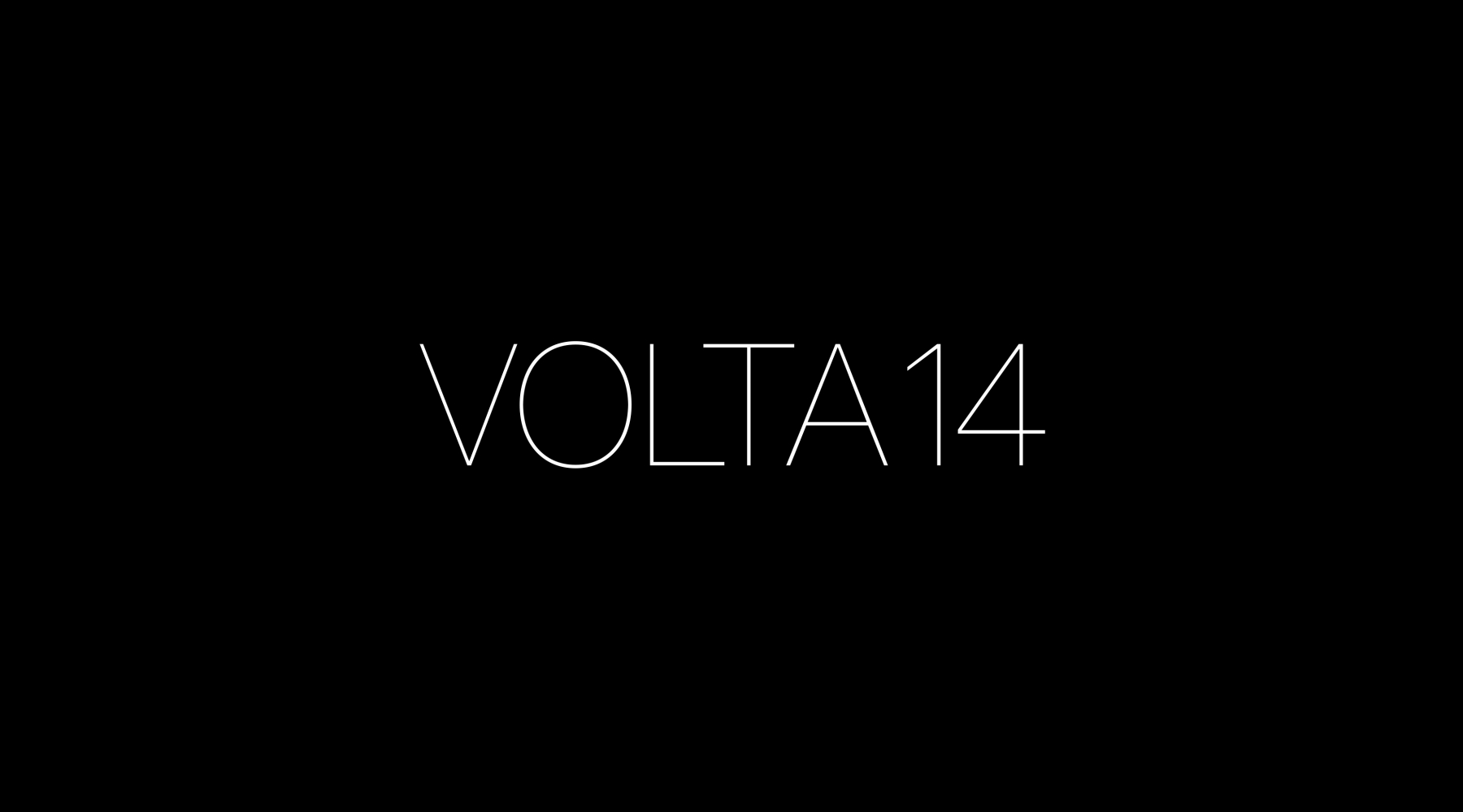 VOLTA 14 | BASEL | JUNE 11 TO 16, 2018