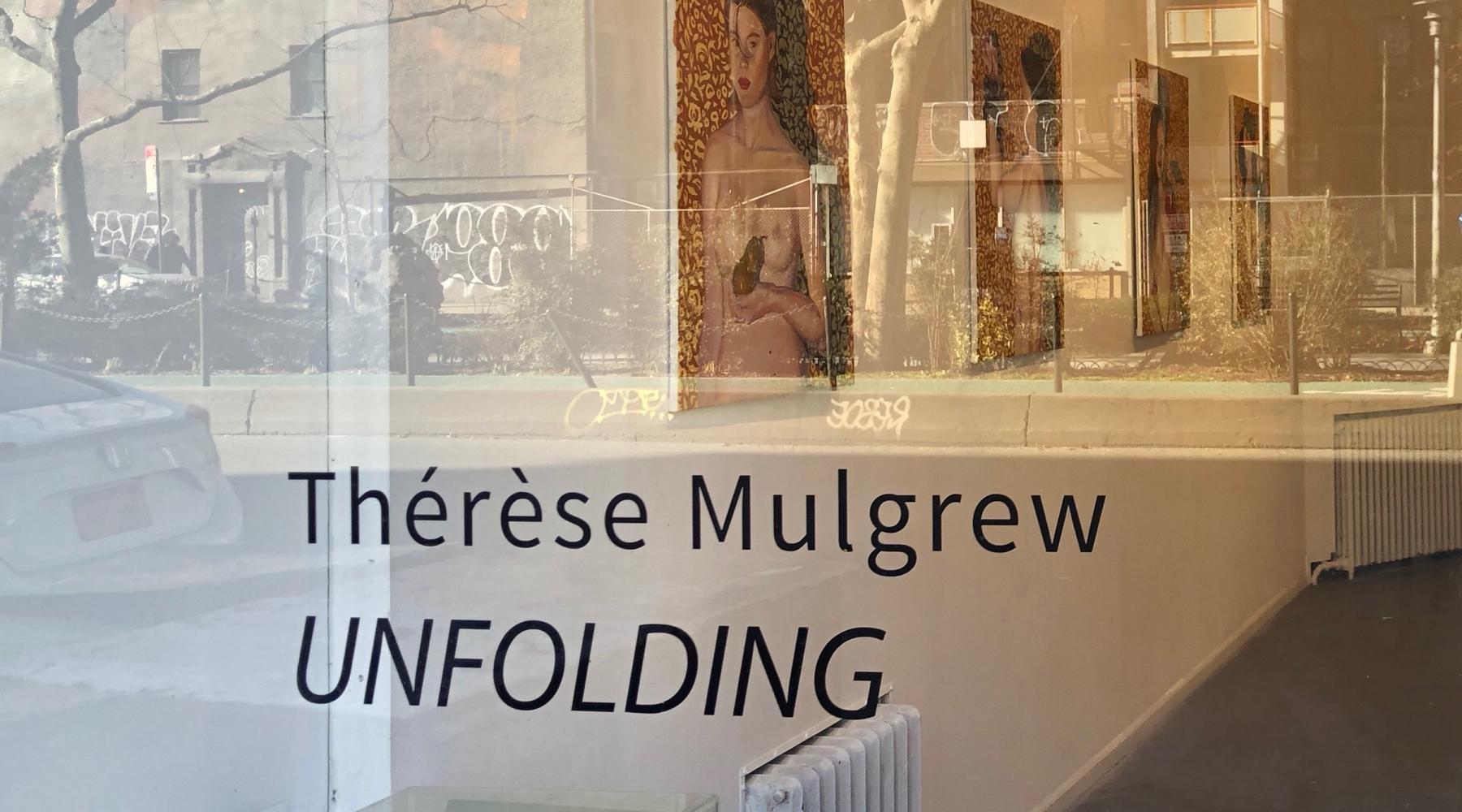 "Thérèse Mulgrew - ""Unfolding"""