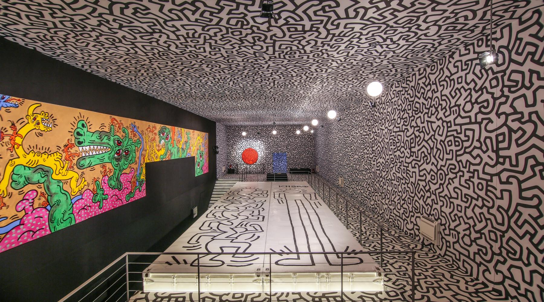Keith Haring- La Nave Salinas- Ibiza, Spain.