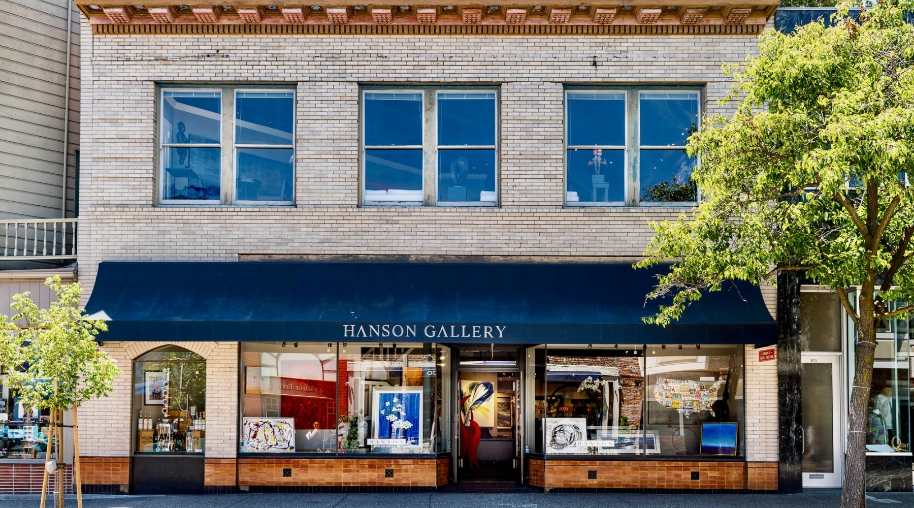 Welcome to Hanson Gallery Fine Art. We Are OPEN! Personal appointments available by email at judy@hansongalleryfineart.com or Phone Appointments at 415 332-1815