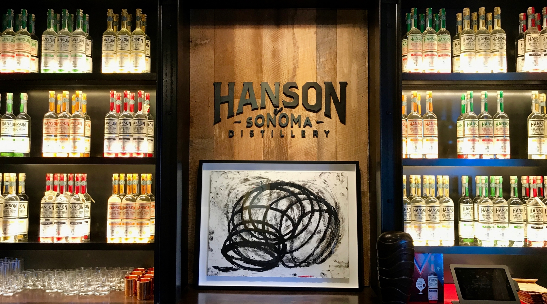 Hanson of Sonoma opens a Tasting Room in Hanson Gallery Sausalito!  Friday, Saturday and Sunday