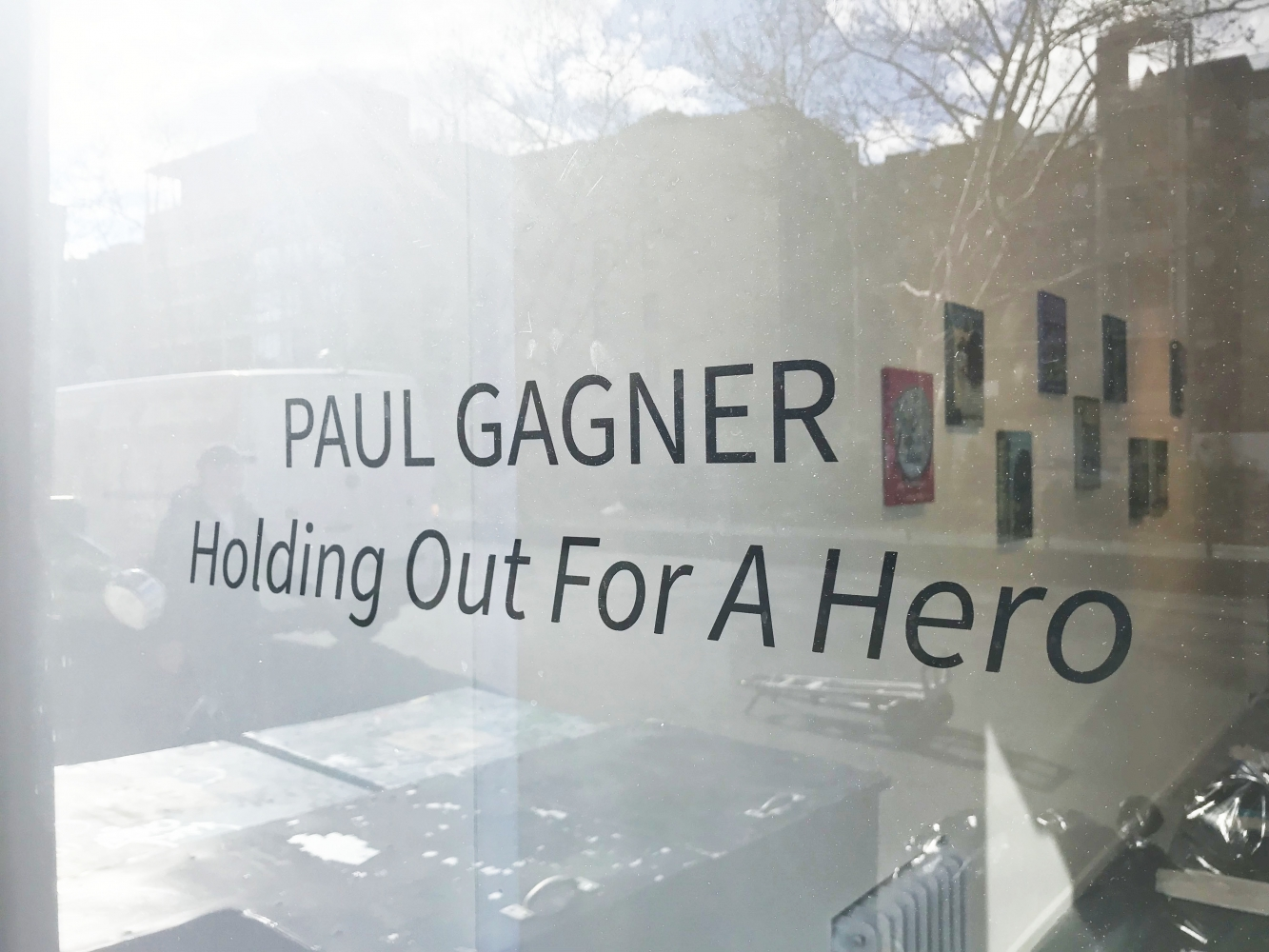 "Paul Gagner ""Holding Out For A Hero"""