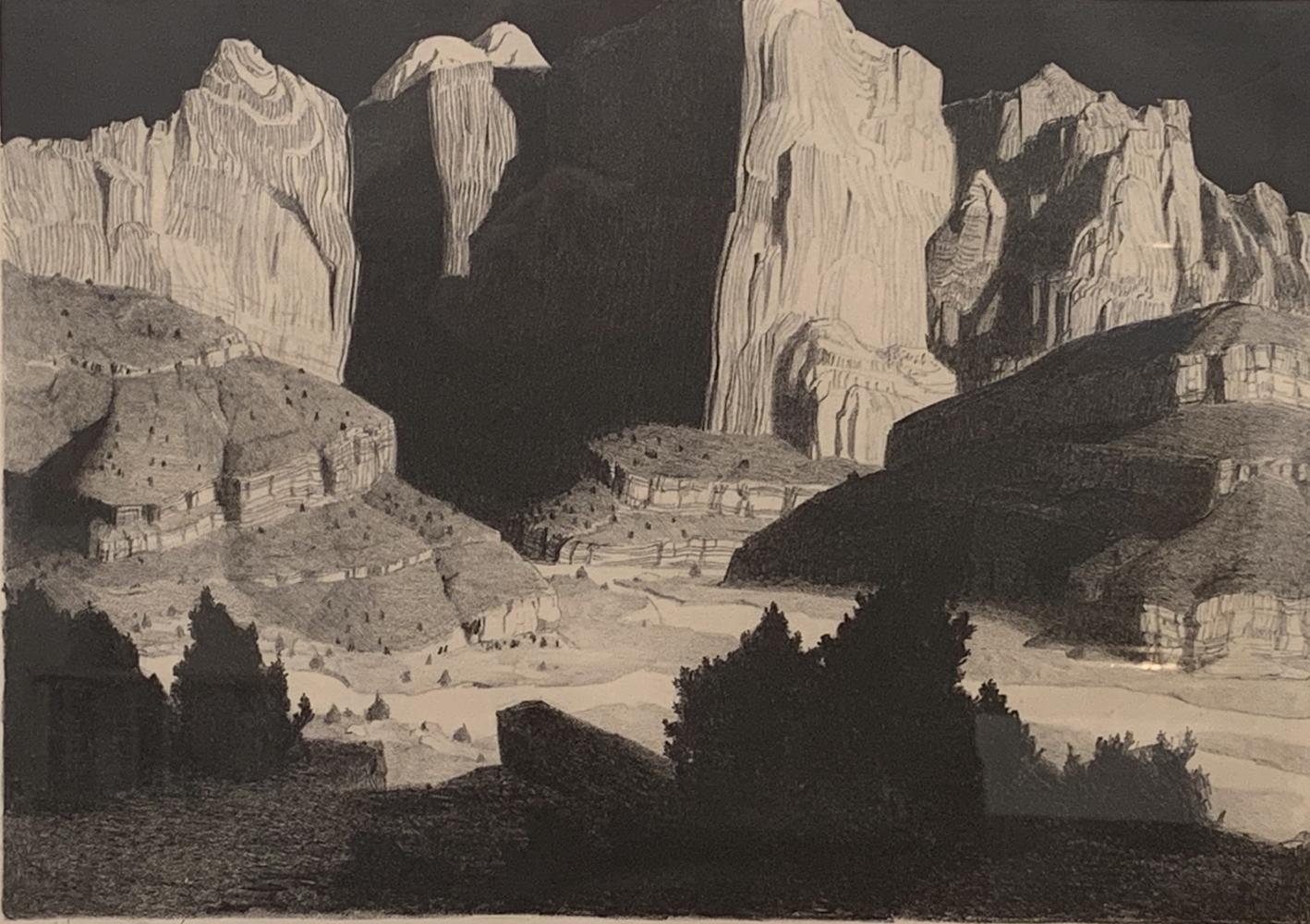 Conrad Buff, California artist, David Dee Fine Arts