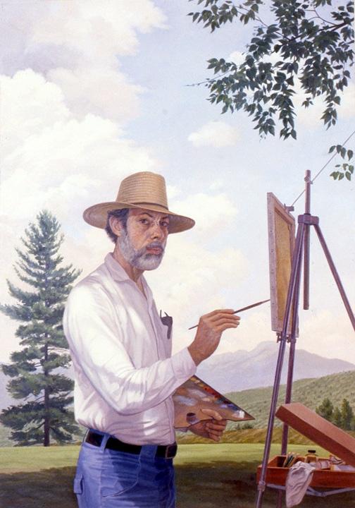 Vincent Arcilesi, Self Portrait, 1982.