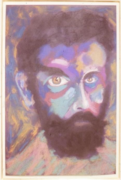 Lucas Samaras, Head #47, 1981.