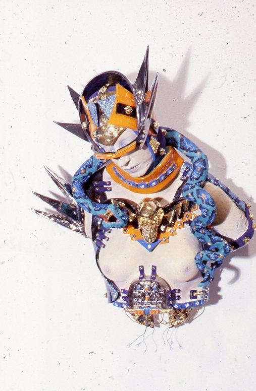 Toby Buonagurio, Bionic Toby with Pet Boa, 1982.