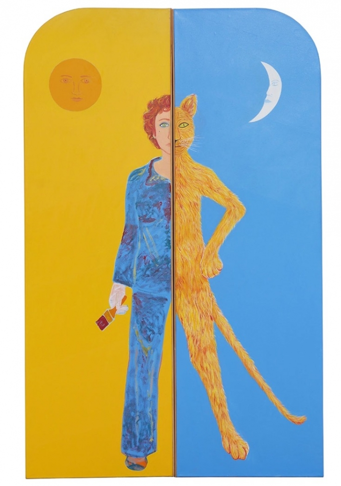 Joan Brown, Harmony, 1982.