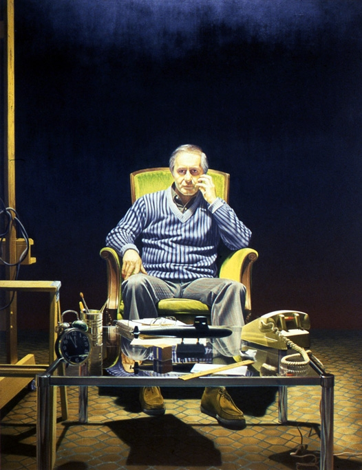 James Valerio, Self-Portrait, 1981.