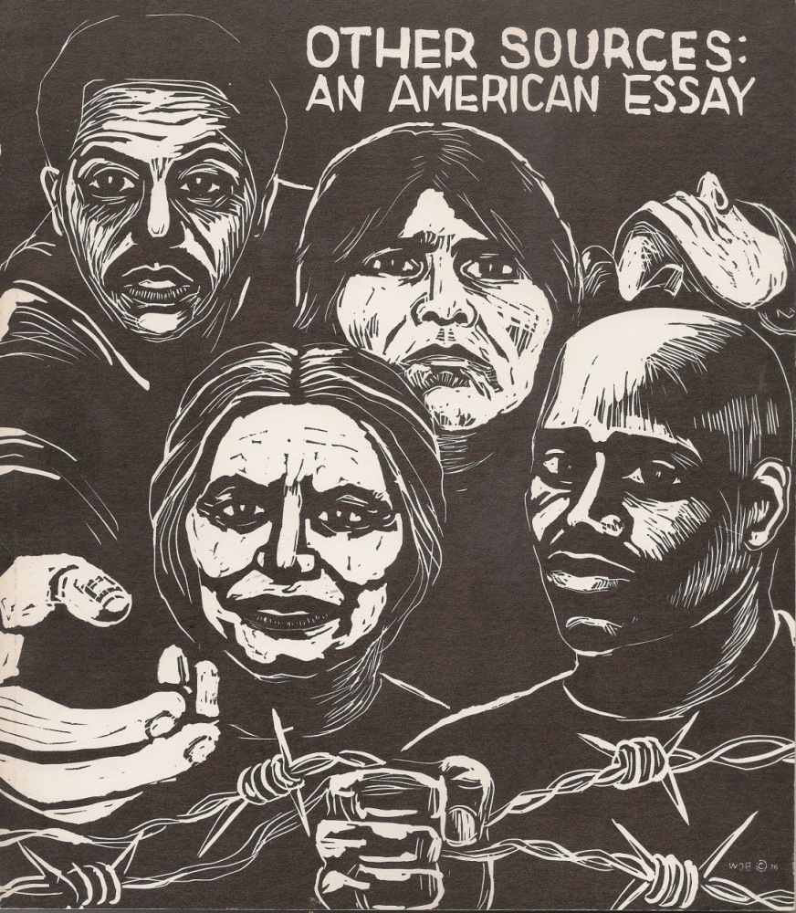 """Cover of catalog for """"Other Sources: An American Essay"""""""