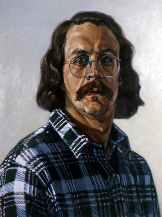 Walt Jurkiewicz, Self-Portrait, 1982.