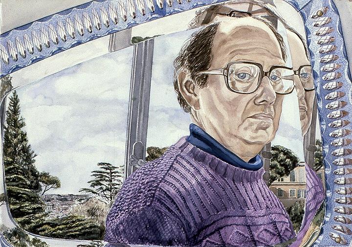Philip Pearlstein, Self-Portrait, 1982.