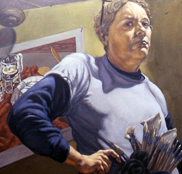 Jack Beal, Self-Portrait, 1982.