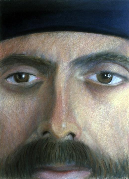 Paul Linfante, Self-Portrait, 1982.