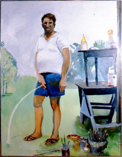 Paul Georges, Self-Portrait, 1981-82.
