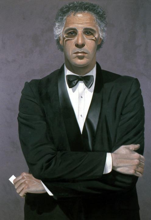 Alfred Leslie, Self-Portrait, 1982.