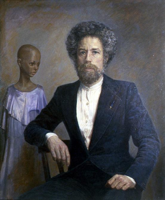 Paul Wiesenfeld, Self-Portrait, 1982.
