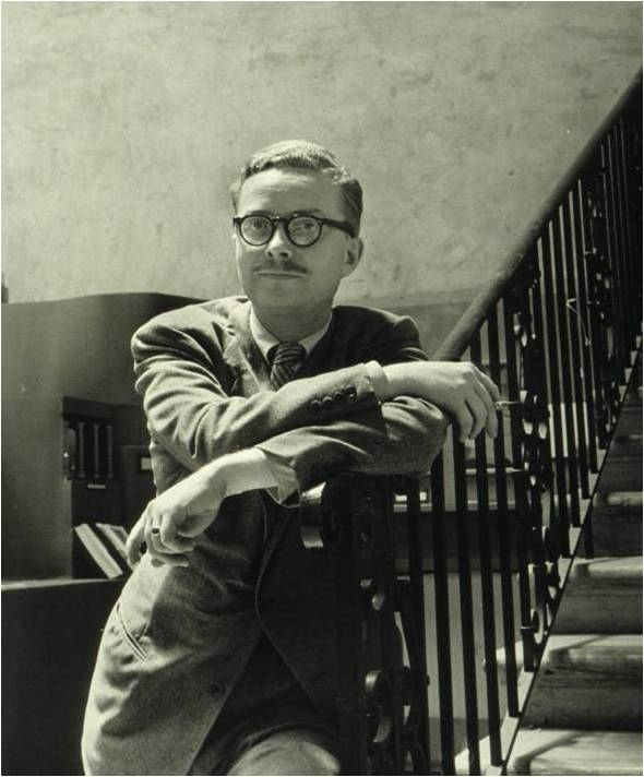 The newly appointed director, Douglas MacAgy, in 1945.