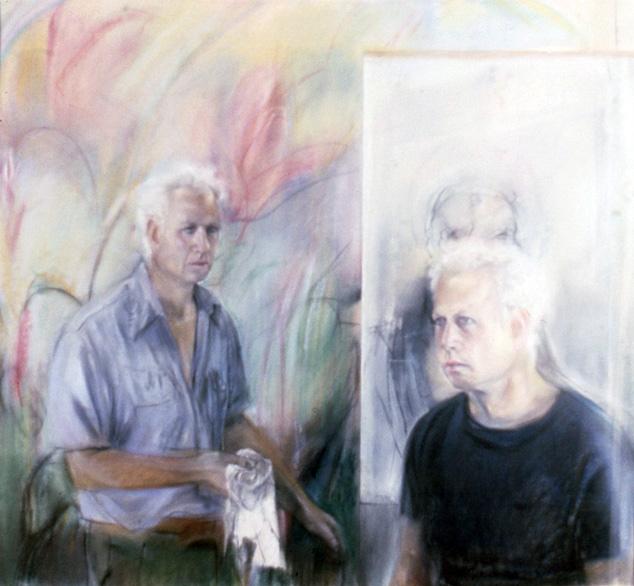 Michael Mazur, Self Portrait, 1982.
