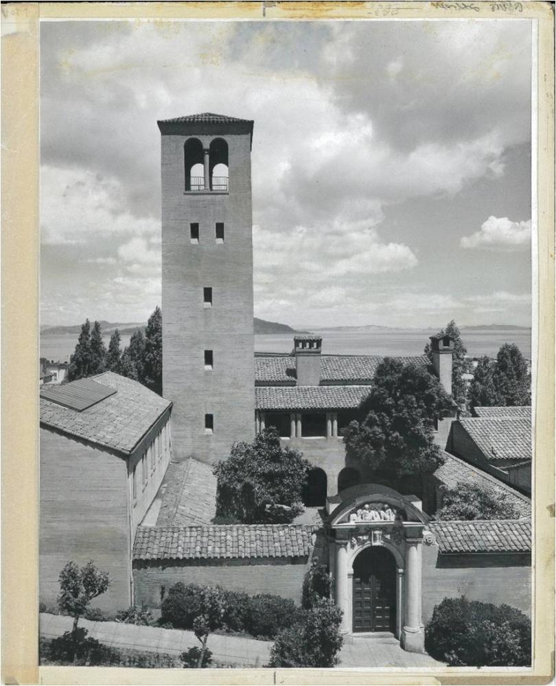 California School of Fine Arts, at Chestnut and Jones St, c. 1953.