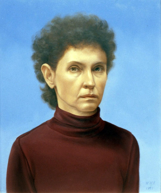 Martha Mayer Erlebacher, Self-Portrait, 1981.