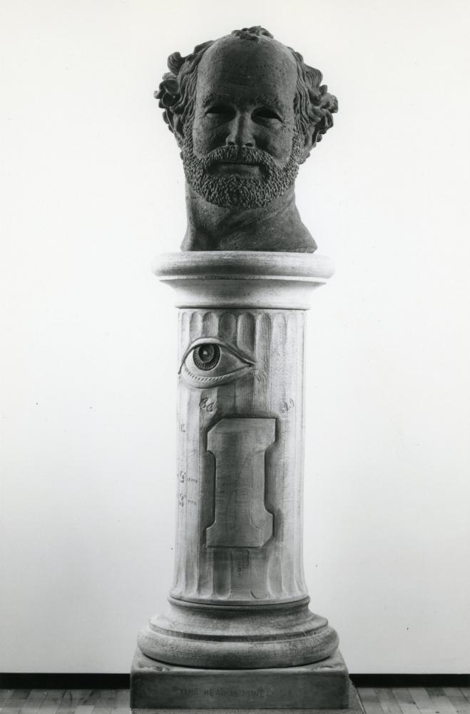 Robert Arneson, This Head is Mine, 1980-82.