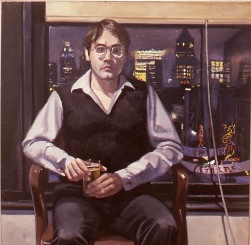 John Stachwicz, Self-Portrait, 1982.