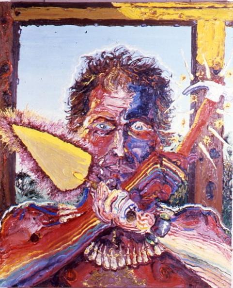 Peter Dean, The Builder, 1981.