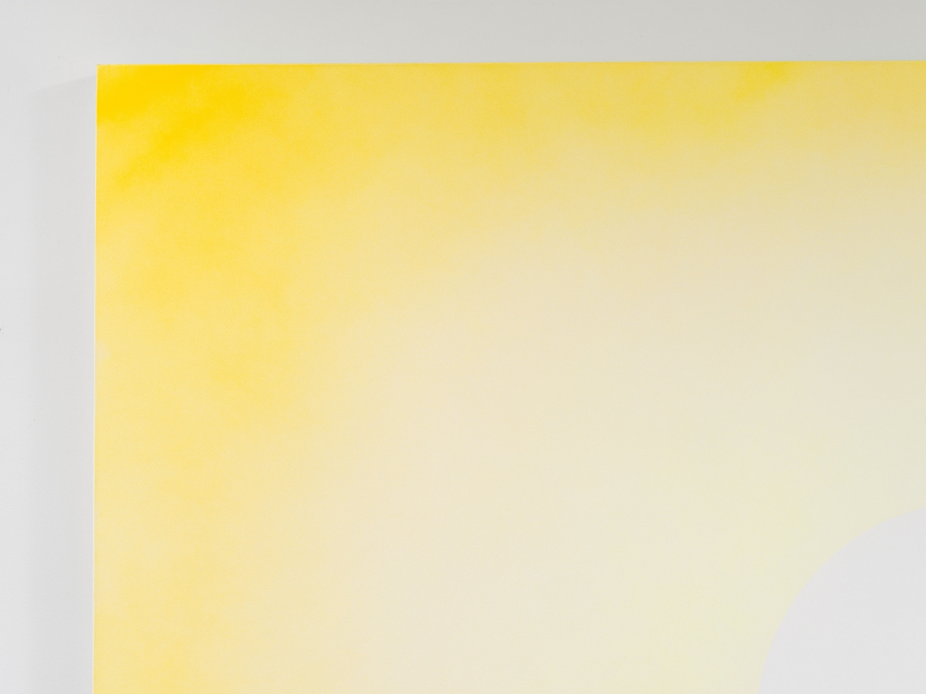 """Rob Reynolds  """"Sun 1,"""" 2018  Oil, alkyd and acrylic polymer paint on canvas,  80 x 100 inches, detail view"""
