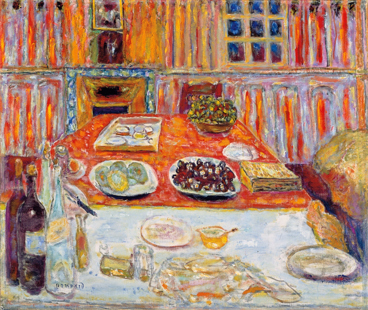 Pierre Bonnard  The Dining Room, 1940-47
