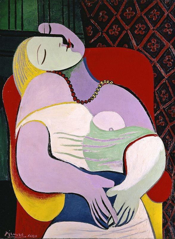 Pablo Picasso  Le Rêve, 1932