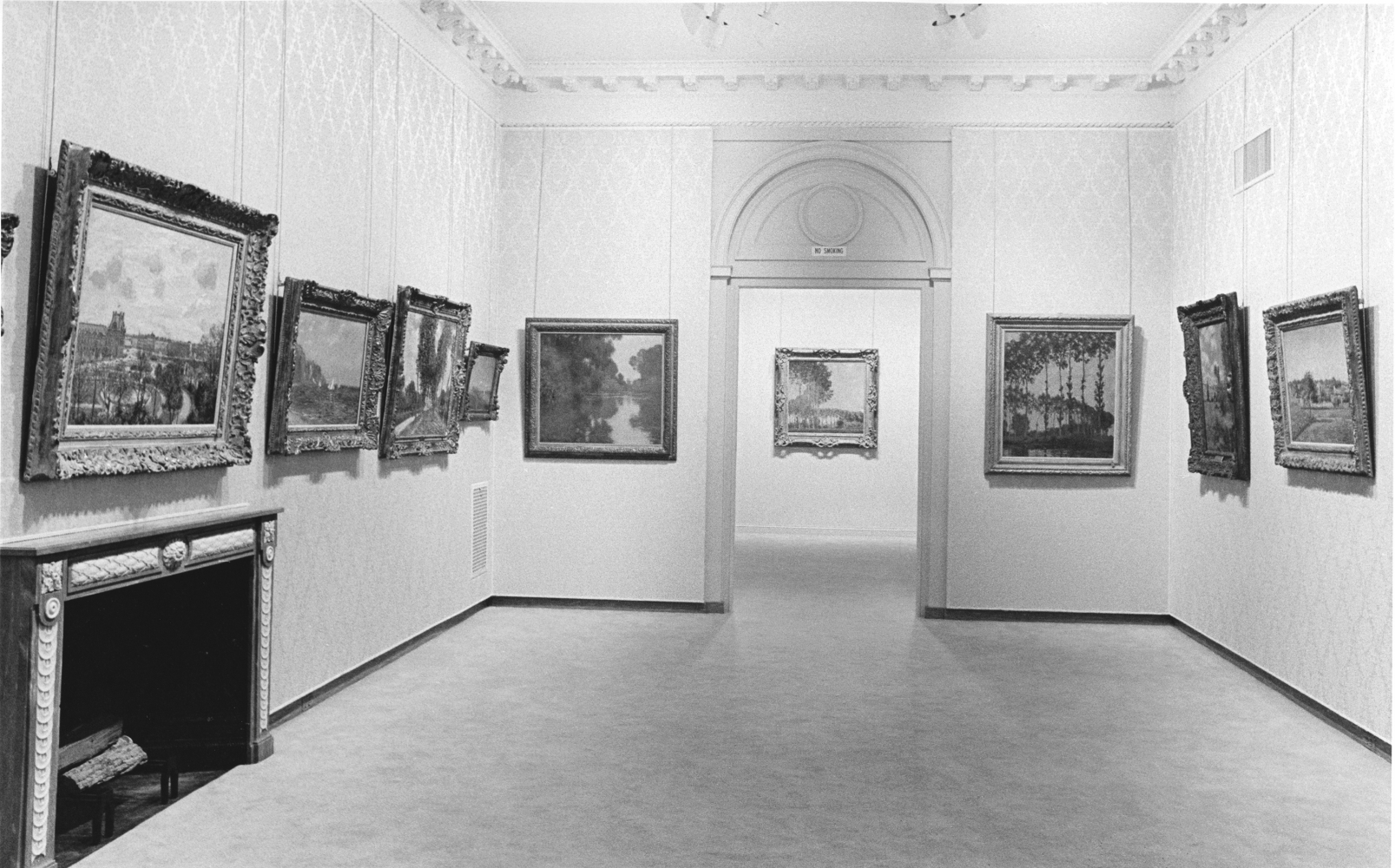 Four Masters of Impressionism install view