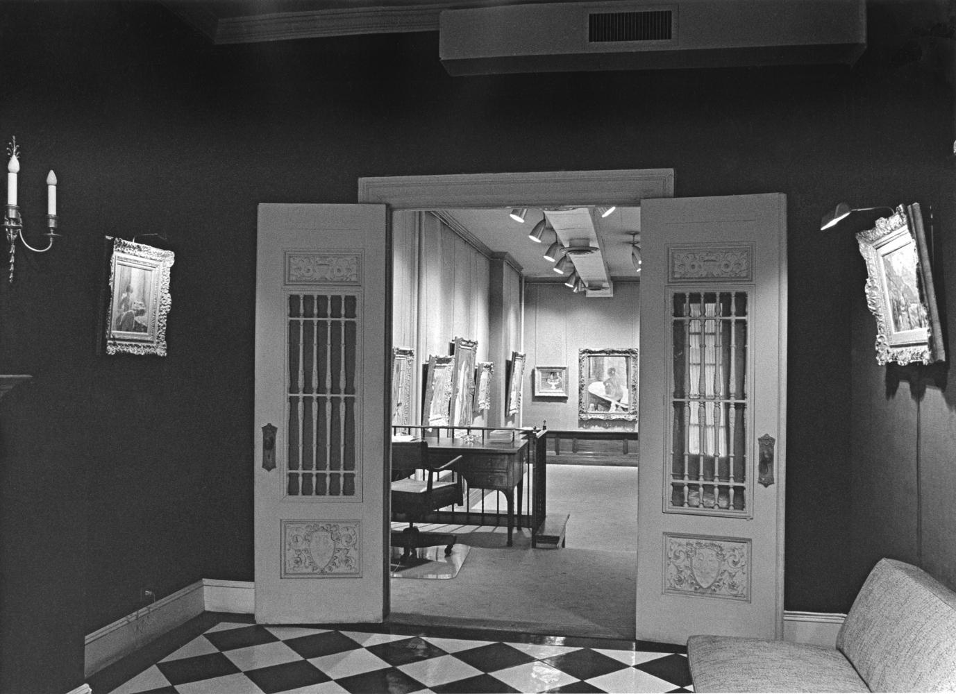 Installation view of Bonnard show