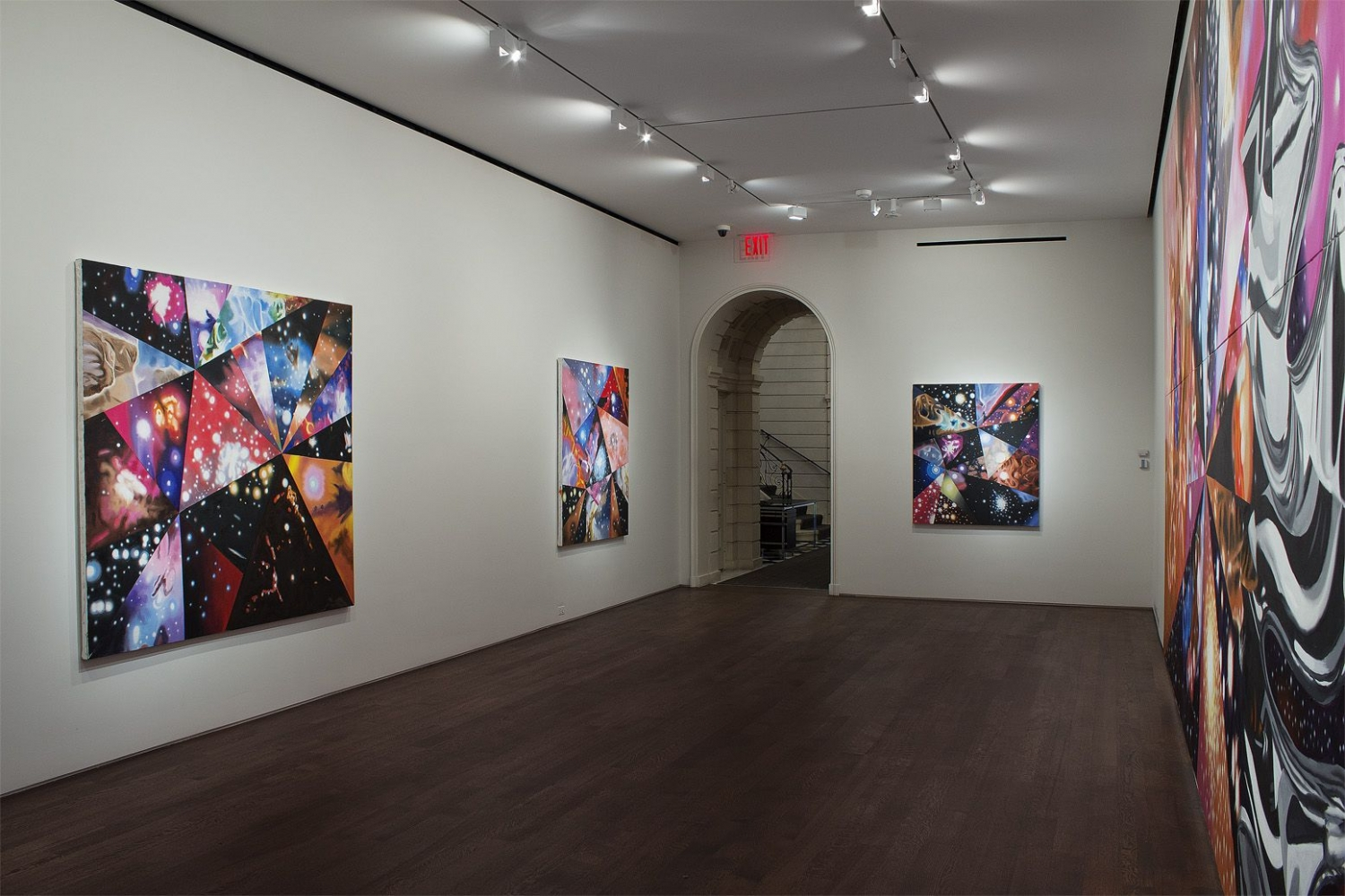 Installation view of James Rosenquist, Multiverse You Are, I Am, September 10 - October 13, 2012.