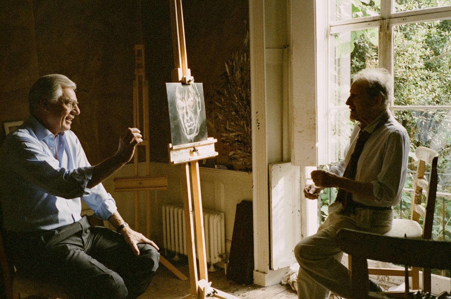 Lucian Freud photo by David Dawson