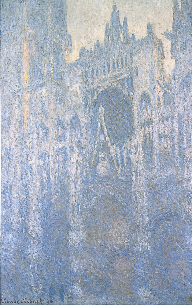 Claude Monet  The Portral at Rouen Cathedral in Morning Light, 1894