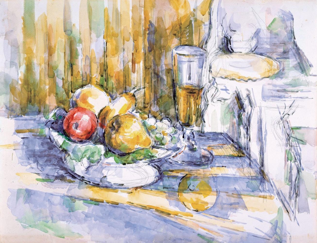 Paul Cézanne  Le Dessert, 1900-06