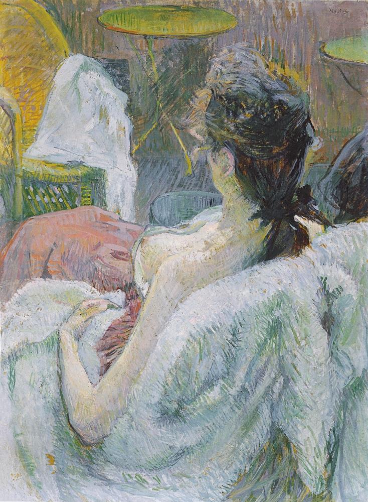 Henri de Toulouse-Lautrec  The Model Resting, 1889