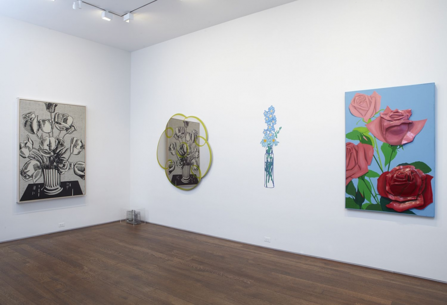 Installation view of The Pop Object: The Still Life Tradition in Pop Art, April 9 - May 23, 2013. Left to right: