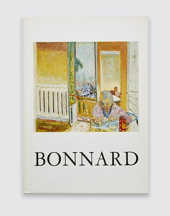 Catalogue for Bonnard exhibition, 1965.