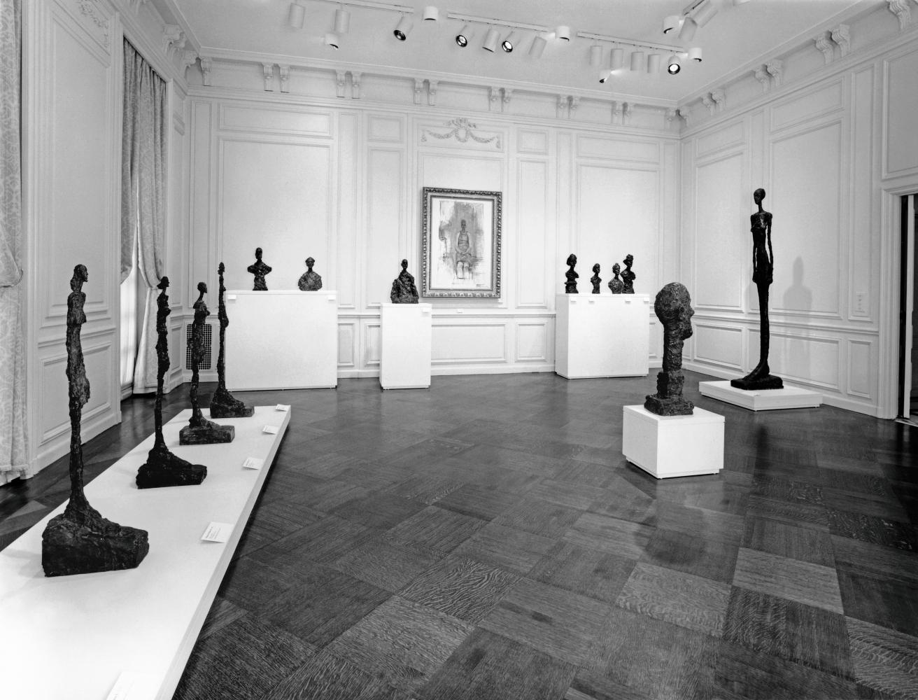 Giacometti show, fall 1994