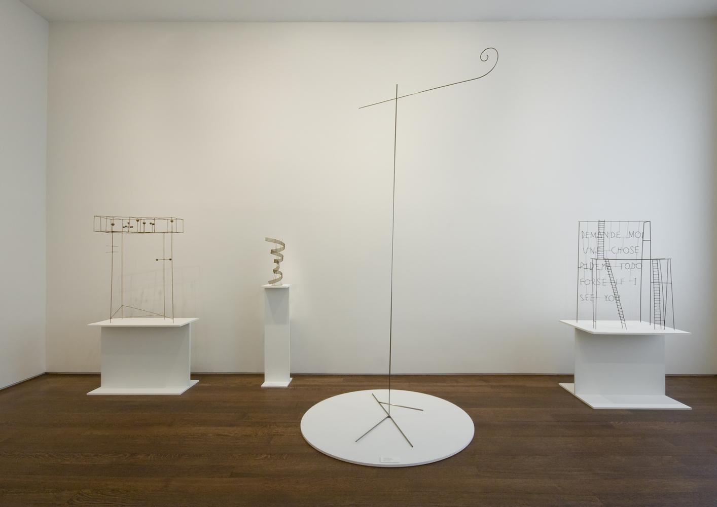 Installation view of Fausto Melotti, April 16 - June 13, 2008.
