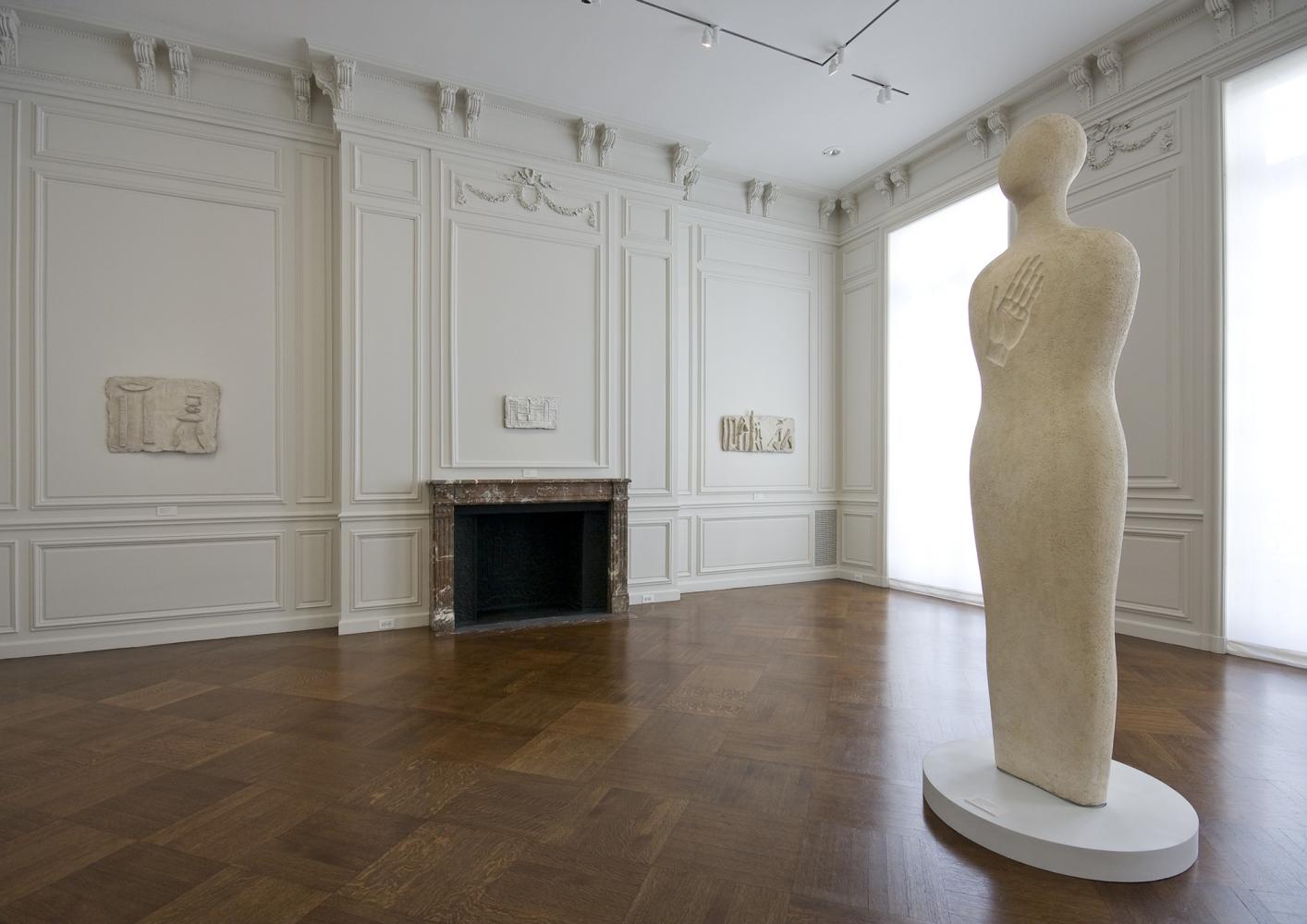 Installation view of Fausto Melotti