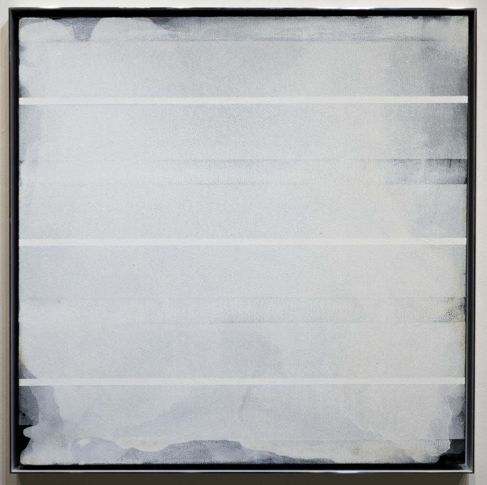 """21-V-10, 2010 Acrylic on canvas 27 x 27"""""""