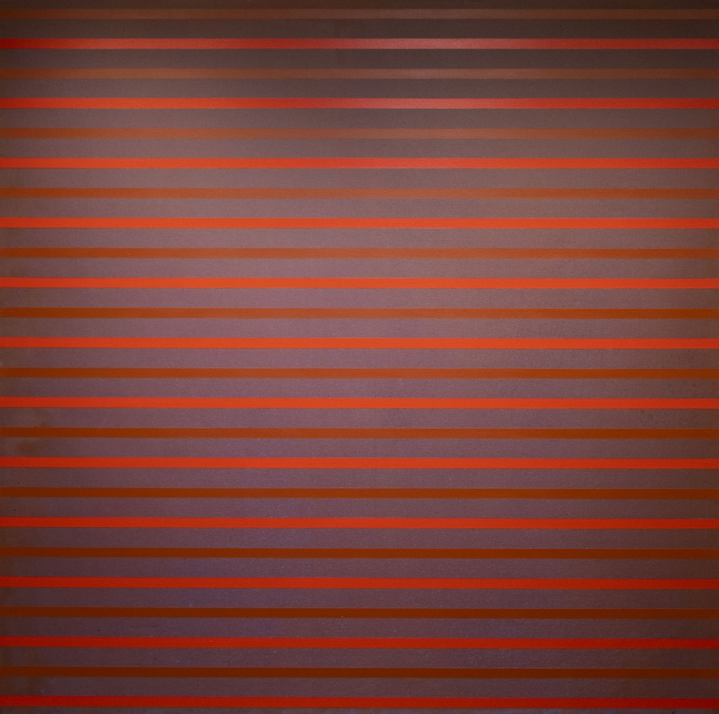 """Red, 2003  Acrylic on canvas, 72 x 72"""""""