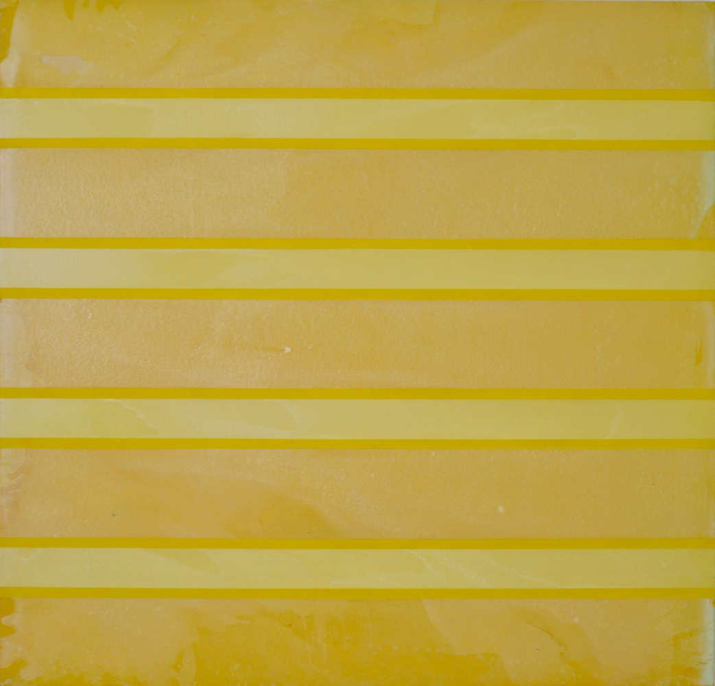 "YELLOW, 2009 Acrylic on canvas, 48 x 48"""