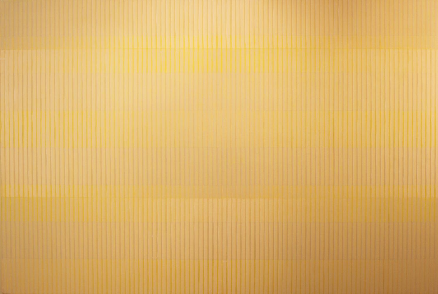 """PAINTING 16-III-15 2015  Acrylic on canvas, 45 x 69"""""""