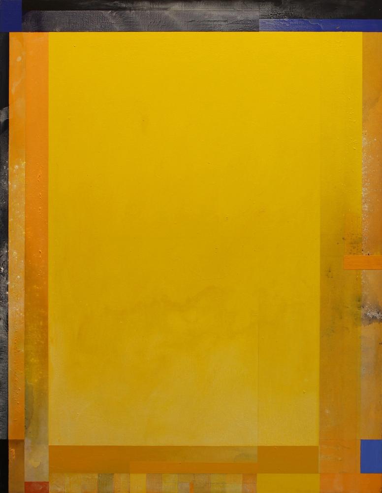"""INGLEWOOD #8, 1991  Acrylic on canvas,  54 x 42"""""""